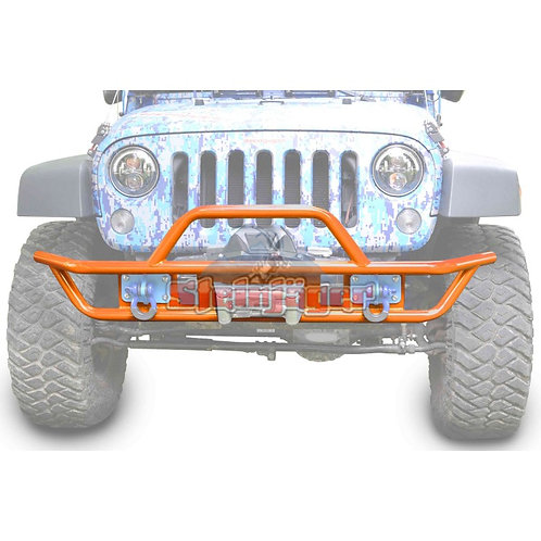 STE-J0048120. Orange Front Tubular Bumper for Jeep Wrangler JK