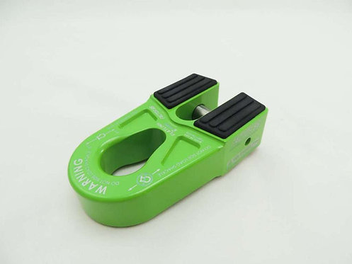 FACTOR 55 Lime Green Flatlink Expert Shackle Mount. 00080-08