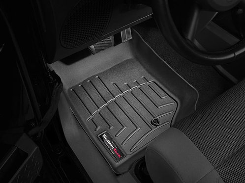 WEATHERTECH 441051 Black 1st Row Liner for 07-13 Jeep Wrangler & Unlimited