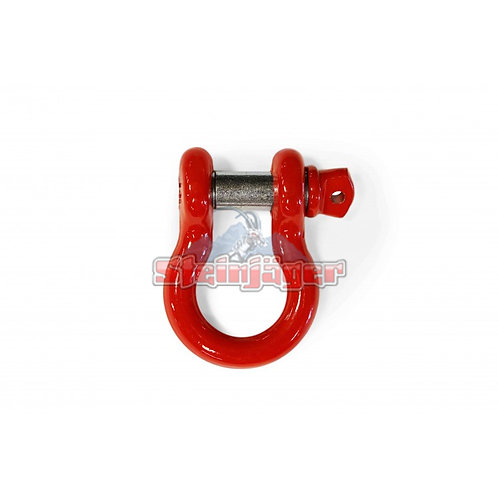 STEINJAGER Red D-ring Shackle. J0045445