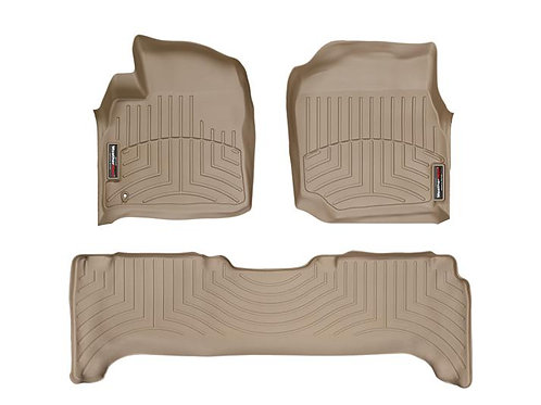 Weathertech 45077-1-2 Tan 1st & 2nd Row 98-07 Toyota LandCruiser 98-05 Lexus LX