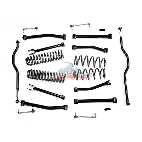 STE-J0041262. 4in Black Lift Kit for Jeep Wrangler JK and JKU