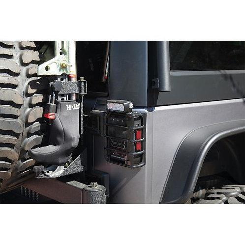 RIGID INDUSTRIES 40322 Passenger Side Tail Ligth Mount for Jeep JK 07-17