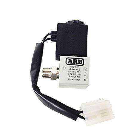 """ARB 180103 Aluminium Solenoid 12VDC 1/8"""""""