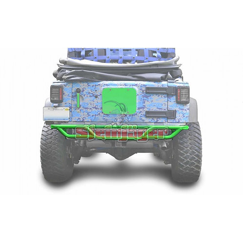 STE-J0048164. Neon Green Rear Tubular Bumper for Jeep Wrangler JK 0-