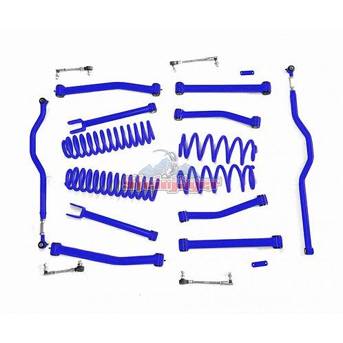 STE-J0044930. 4in Southwest Blue Lift Kit for Jeep Wrangler JK and JKU