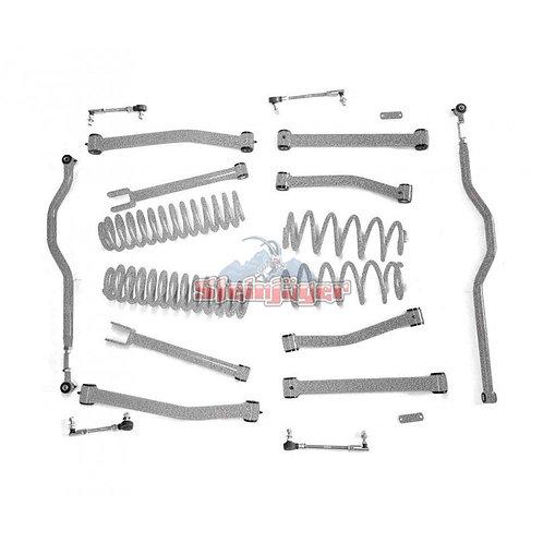 STE-J0044938. 4in Gray Hammer Lift Kit for Jeep Wrangler JK and JKU