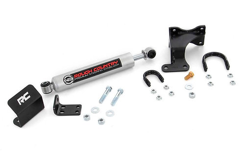 ROUGH COUNTRY 8731930 N3 Steering Stabilizer for Jeep JK 07-18