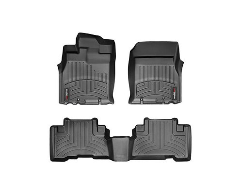 WEATHERTECH 44311-1-2 Black 1st & 2nd Row Liner for 07-11 Toyota FJ Cruiser