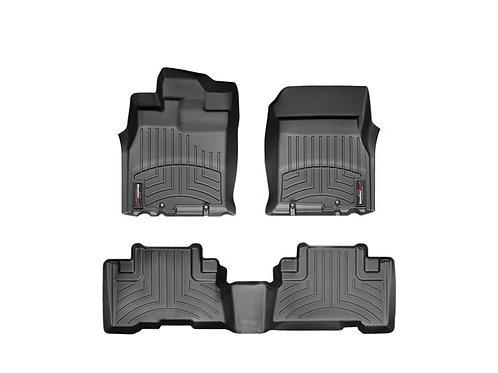 WEATHERTECH 44311-1-2 Black 1st & 2nd Row Liner for 07-11 Toyota FJ Cruiser