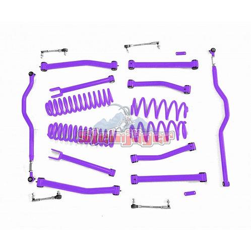 STE-J0044939. 4in Sinbad Purple Lift Kit for Jeep Wrangler JK and JKU