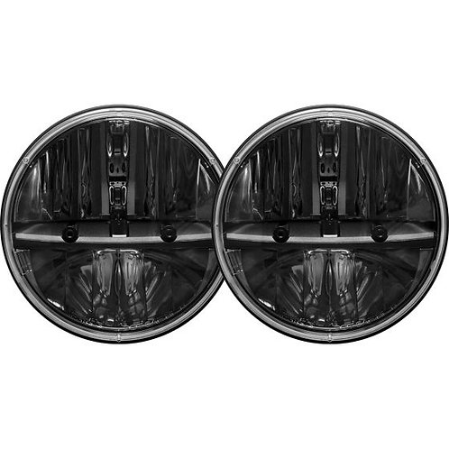 "RIGID INDUSTRIES 55000 7"" Headlight Round Kit with PWM Adaptor Pair"
