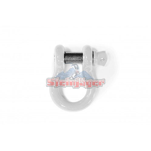 STEINJAGER Cloud White D-ring Shackle. J0045456