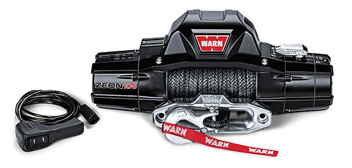 WARN 89611 Zeon 10-s Synthetic Rope Winch 10,000lb