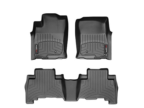 WEATHERTECH 441539-1-3 Black 1st & 2nd Row Liner for 20 Toyota Corolla
