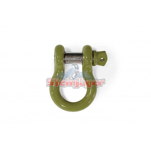STEINJAGER Locas Green D-ring Shackle. J0045451