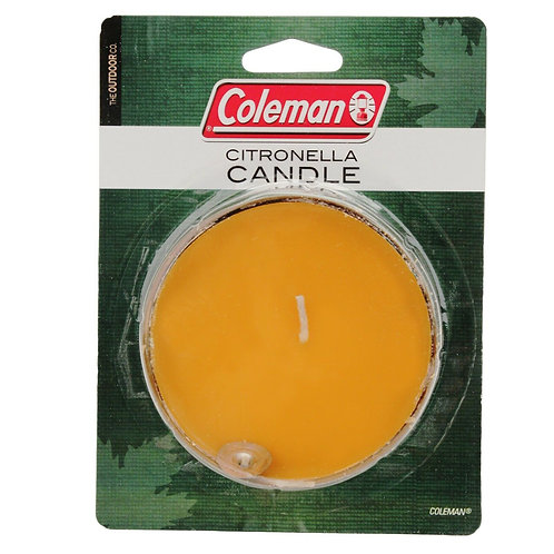 COLEMAN Citronella Candle Aroma Repels Insets 2000016466