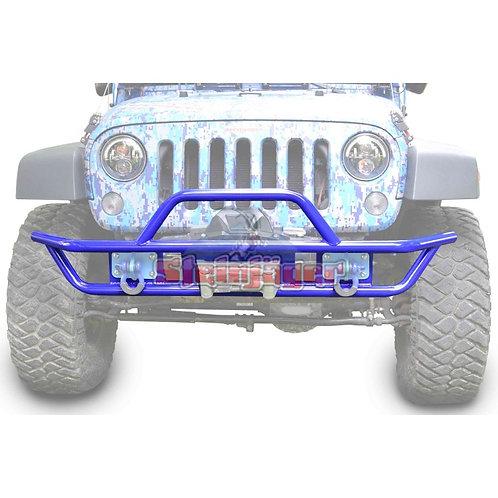 STE-J0048122. Southwest Blue Front Tubular Bumper for Jeep Wrangler JK