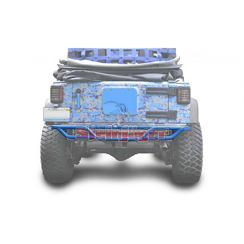 STE-J0048161. Playboy Blue Rear Tubular Bumper for Jeep Wrangler JK 0-