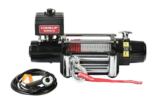 COME-UP 856333 Electric Winch DV-9, 12V Metal Rope