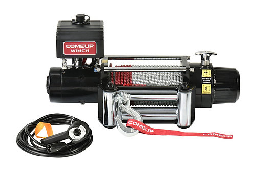 COME-UP Electric Winch DV-9, 12V Metal Rope 856333