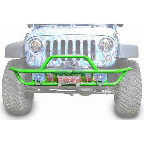 STE-J0048125. Neon Green Front Tubular Bumper for Jeep Wrangler JK