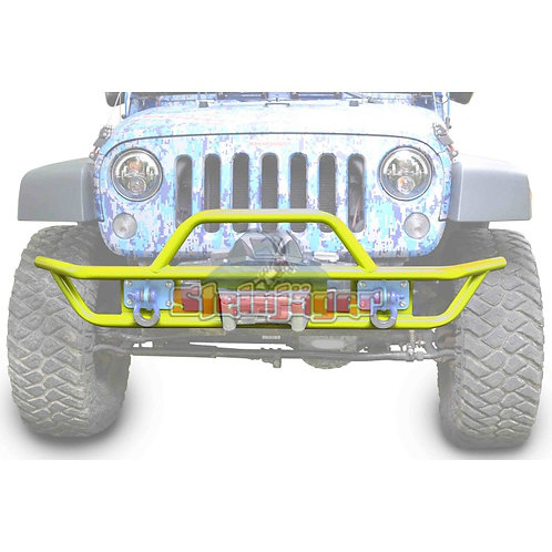 STE-J0048133. Neon Yellow Tubular Bumper for Jeep Wrangler JK