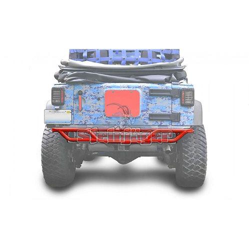 STE-J0048160. Red Baron Rear Tubular Bumper for Jeep Wrangler JK 0-