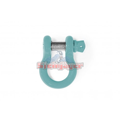 STEINJAGER Tiffany Blue D-ring Shackle. J0048482