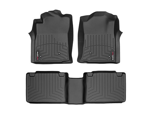 WEATHERTECH 441781-440212 Black 1st & 2nd Row Liner for 08-11 Toyota Tacoma