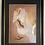 Thumbnail: White Peacock Foiled Art Print