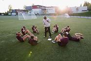 チームの練習