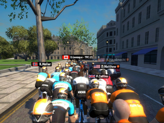 Virtual Reality, Big Data and Social Media Change the Way Cyclists Train