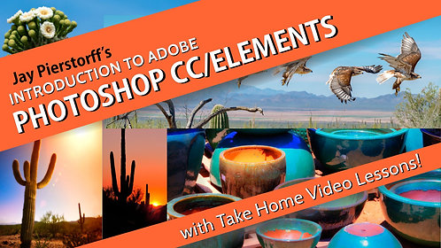 Intro to Photoshop CC/Elements (Jan. 30)