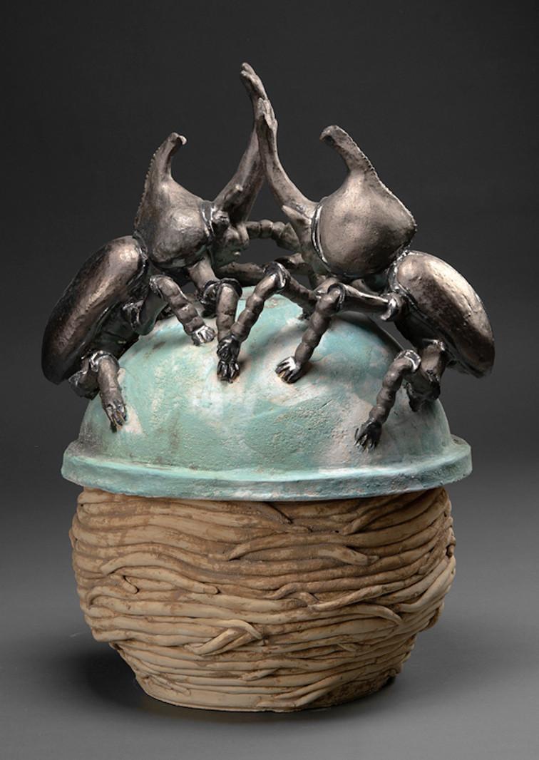 01 - Battling Rhinocerous Beetles - 19H x 13W x 13D .jpeg