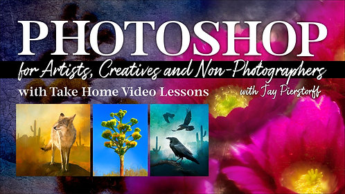 Photoshop for Artists, Creatives and Non-Photographers (Feb. 26)