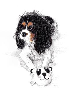 Lola with Friend