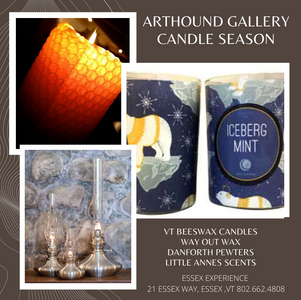 It's Candle Season at ArtHound Gallery