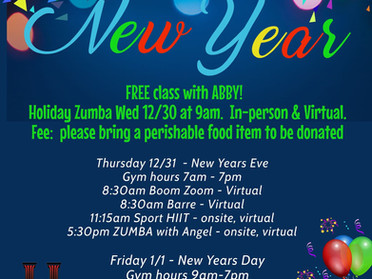 New Year's at Hammerfit Athletic Club