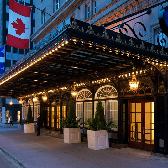 5 star hotel, Ritz Carlton in Montreal