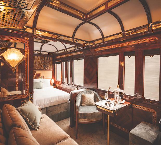 Orient express cabin