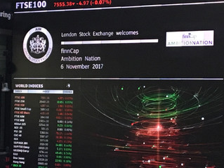 Ambition Nation launch at London Stock Exchange