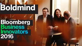 Boldmind named a Bloomberg Business Innovator 2016