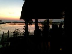 Sunset salutations