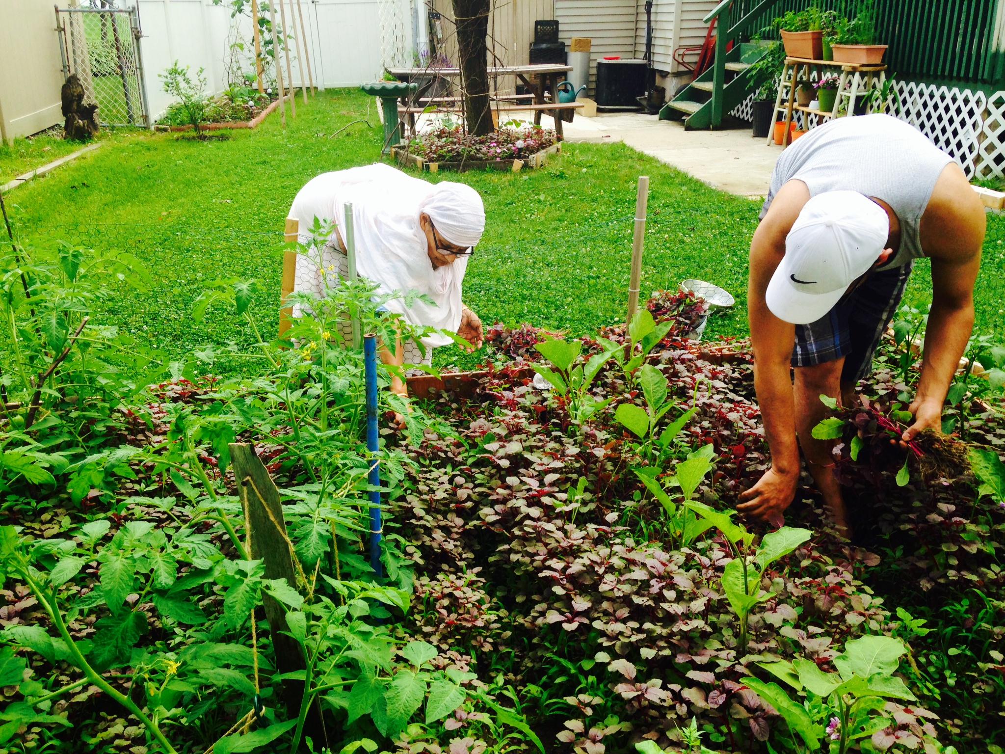 Gardening wit the Mum!