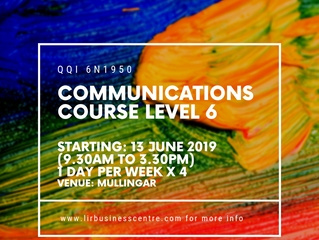 Why do a QQI Communications Level 6 module with Lir?