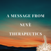 Nuvè Therapeutics Covid-19 Announcement