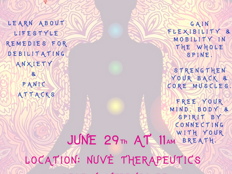 FUNctional Flow Introduces - Kundalini Yoga Class Saturday June 29th at 11am!!