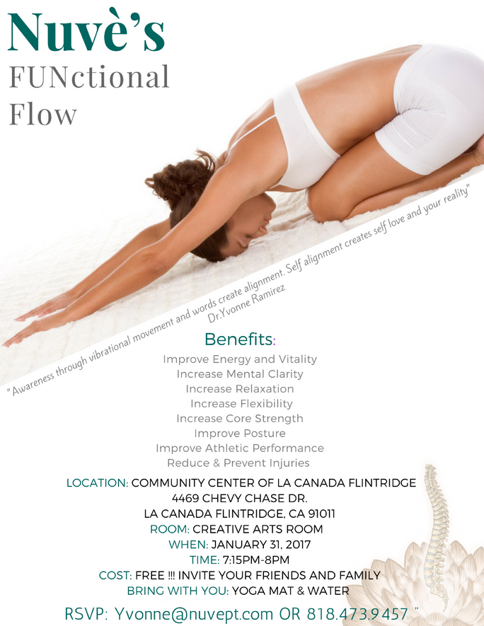FUNctional Flow Class!!!                  January 31st, 2017