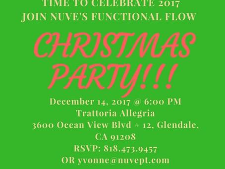 Nuvè Therapeutics Christmas Party